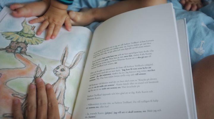 Recension av godnattsagorna Kaninen som så gärna ville somna och Elefanten som så gärna ville somna
