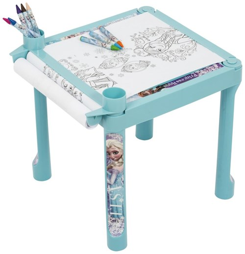 Disney Frozen Coloring Table