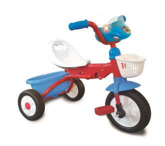 Kiddieland Paw Patrol Rescue Team Activity Trike