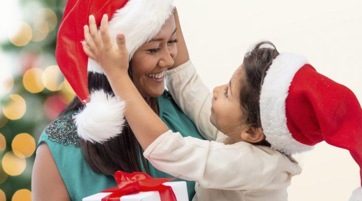 julklapparna till mamman