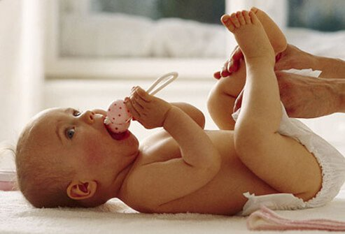 Olika typer av bebisutslag