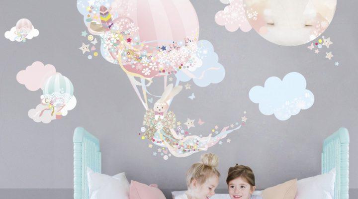 Bästa väggstickers 2018 – Snygg och enkel dekoration för barnrummet