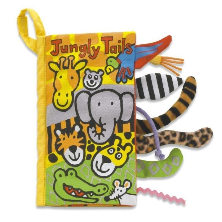 Jellycat Tygbok Jungly Tails