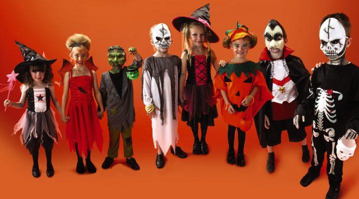 halloweendrakterna for barn