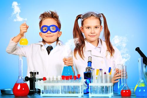experimentladan for barn