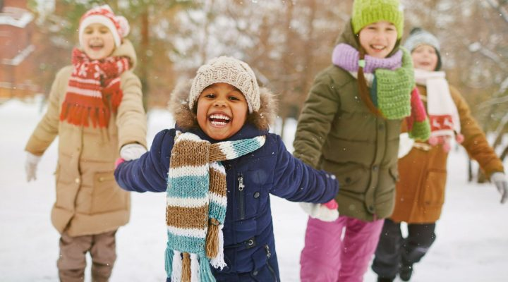vinterjackan for barn