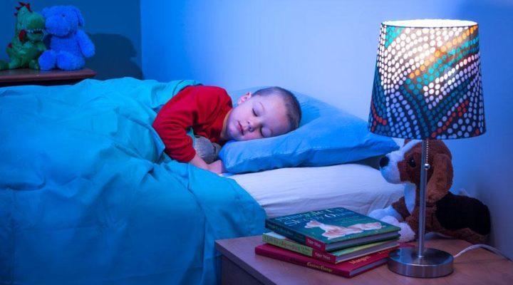 Nar ska barn sova i eget rum